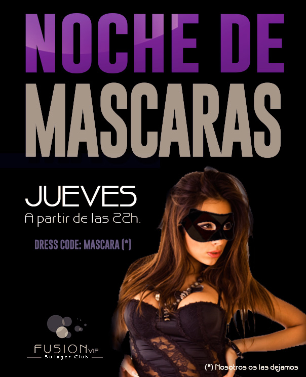 Fiesta Swinger de Mascaras en Madrid