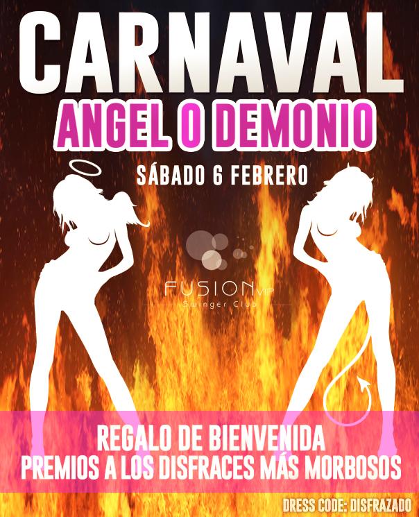 Carnaval Swinger en Madrid
